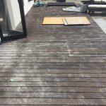ウッドデッキの復旧と劣化防止